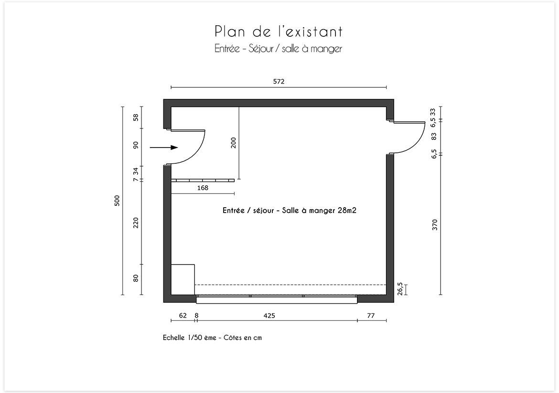 Plan existant